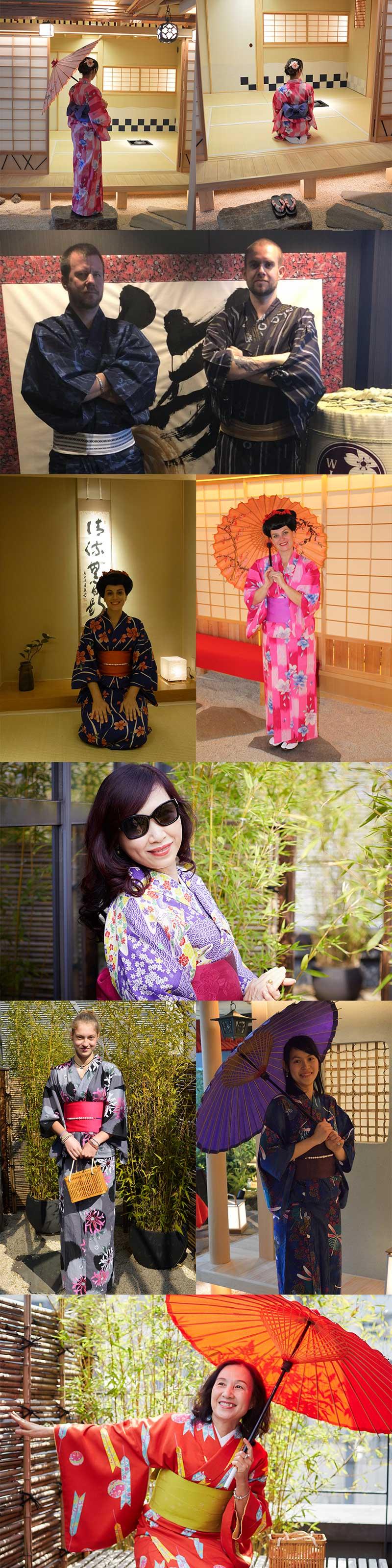 kimono japan tokyo