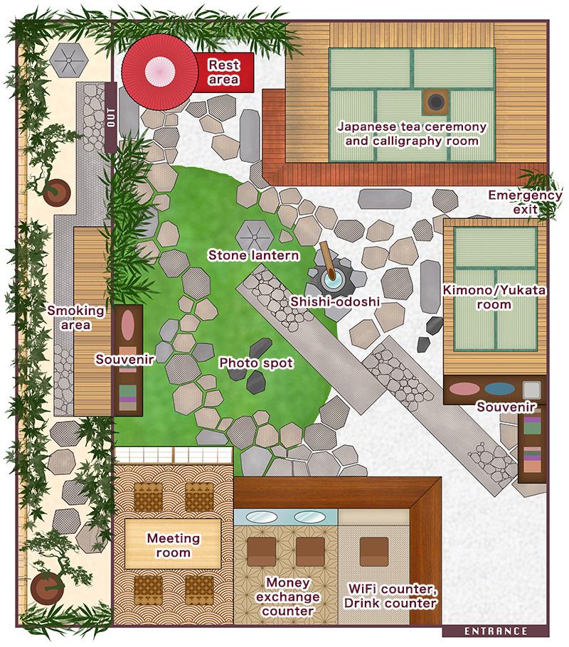 tokyo ginza Floor map