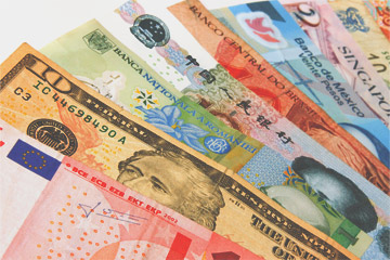 Currency exchange money japan