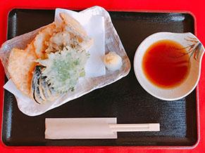 野菜天ぷらの盛り合わせ ¥1,400