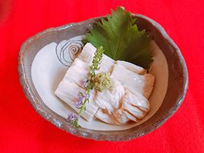 湯葉のお刺身 ¥600