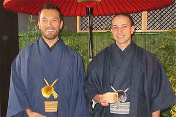 着付け体験、着物、日本東京